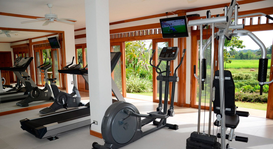 Pa Sak Tong Luxury Gym Chiang Rai Northern Thailand