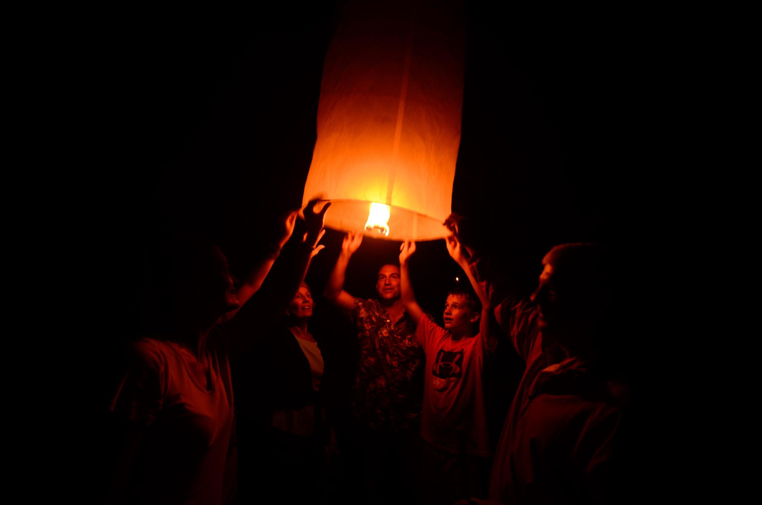 Pasaktong Lanterns For Good Luck Pasaktong