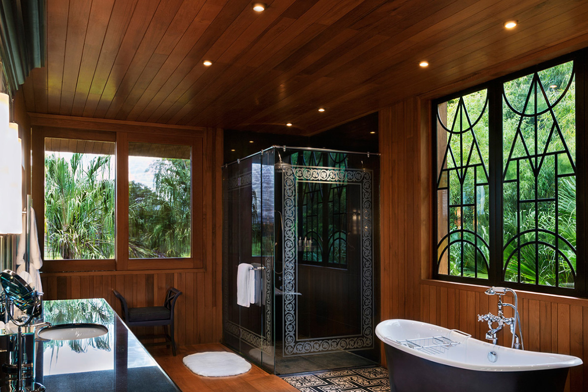 Luxury Villa Bathroom Chiang Rai Northern Thailand